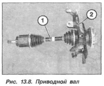 Рис. 13.8. Приводной вал БМВ Х5 Е53