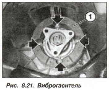 Рис. 8.21. Виброгаситель БМВ Х5 Е53
