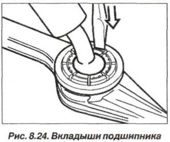 Рис. 8.24. Вкладыши подшипника БМВ Х5 Е53
