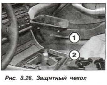 Рис. 8.26. Защитный чехол БМВ Х5 Е53