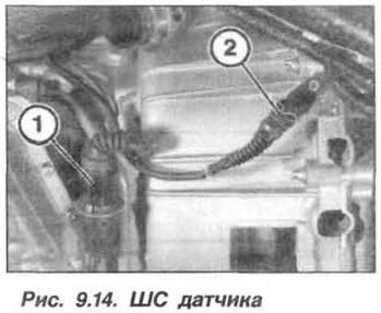 Рис. 9.14. ШС датчика БМВ Х5 Е53