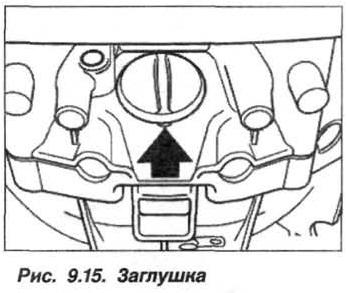 Рис. 9.15. Заглушка БМВ Х5 Е53