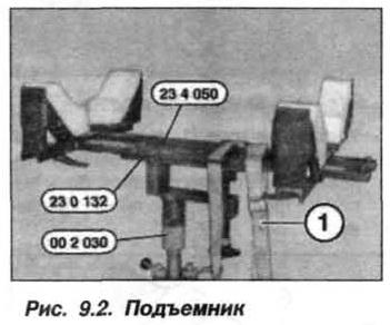 Рис. 9.2. Подъемник БМВ Х5 Е53