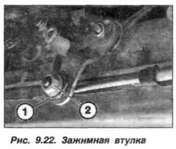 Рис. 9.22. Зажимная втулка БМВ Х5 Е53
