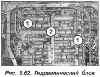 Рис. 9.62. Гидравлический блок БМВ Х5 Е53