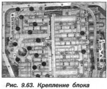 Рис. 9.63. Крепление блока БМВ Х5 Е53