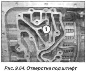 Рис. 9.64. Отверстие под штифт БМВ Х5 Е53