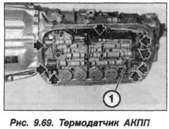 Рис. 9.69. Термодатчик АКПП БМВ Х5 Е53