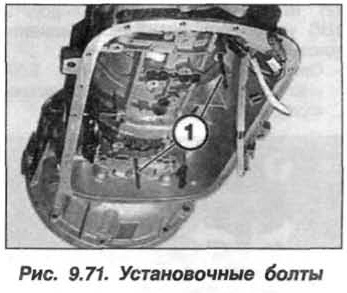 Рис. 9.71. Установочные болты БМВ Х5 Е53