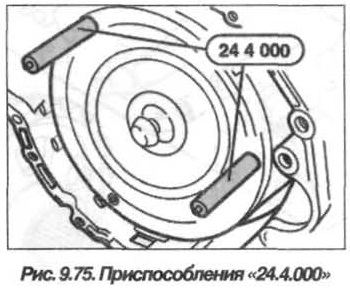 Рис. 9.75. Приспособление 24.4.000 БМВ Х5 Е53