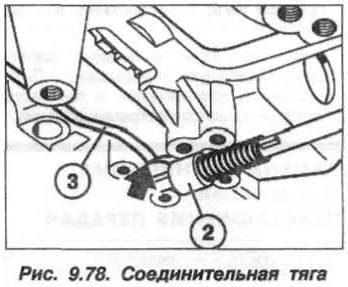 Рис. 9.78. Соединительная тяга БМВ Х5 Е53