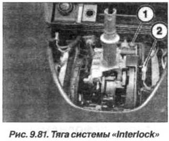 Рис. 9.81. Тяга системы Interlok БМВ Х5 Е53