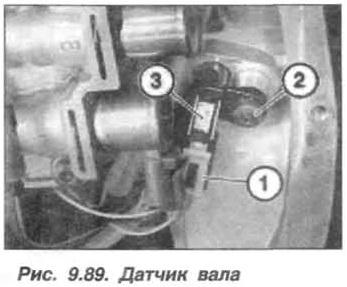 Рис. 9.89. Датчик вала БМВ Х5 Е53