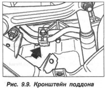 Рис. 9.9. Кронштейн поддона БМВ Х5 Е53