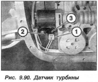 Рис. 9.90. Датчик турбины БМВ Х5 Е53