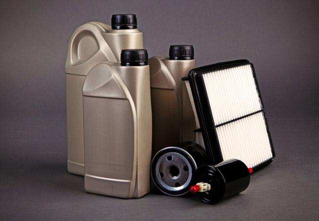 поменять масло и фильтр