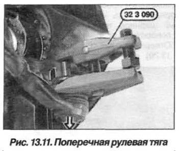 Рис. 13.11. Передняя рулевая тяга БМВ Х5 Е53