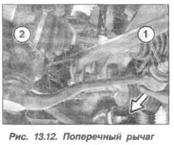 Рис. 13.12. Поперечный рычаг БМВ Х5 Е53