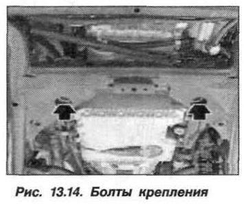 Рис. 13.14. Болты крепления БМВ Х5 Е53