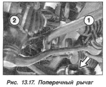 Рис. 13.17. Поперечный рычаг БМВ Х5 Е53