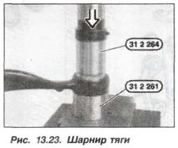 Рис. 13.23. Шарнир тяги БМВ Х5 Е53