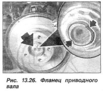 Рис. 13.26. Фланец приводного вала БМВ Х5 Е53