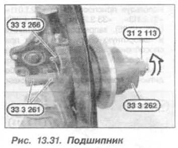 Рис. 13.31. Подшипник БМВ Х5 Е53