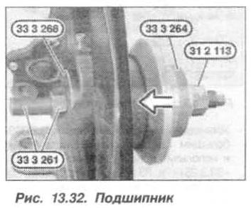 Рис. 13.32. Подшипник БМВ Х5 Е53