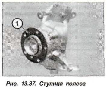 Рис. 13.37. Ступица колеса БМВ Х5 Е53