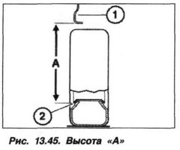 Рис. 13.45. Высота А БМВ Х5 Е53