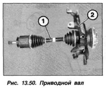 Рис. 13.50. Приводной вал БМВ Х5 Е53
