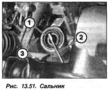 Рис. 13.51. Сальник БМВ Х5 Е53