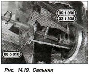 Рис. 14.19. Сальник БМВ Х5 Е53