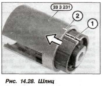 Рис. 14.28. Шлиц БМВ Х5 Е53