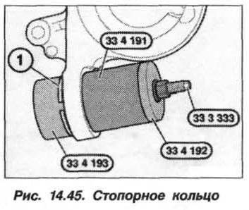 Рис. 14.45. Стопорное кольцо БМВ Х5 Е53