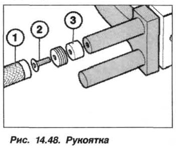 Рис. 14.48. Рукоятка БМВ Х5 Е53