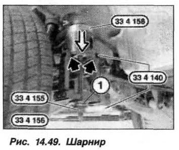 Рис. 14.49. Шарнир БМВ Х5 Е53