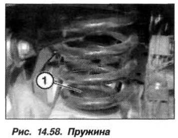 Рис. 14.58. Пружина БМВ Х5 Е53