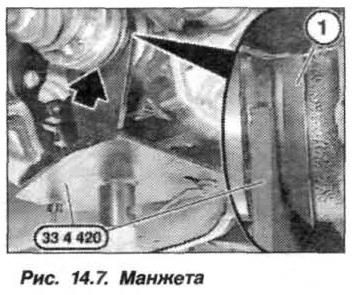 Рис. 14.7. Манжета БМВ Х5 Е53