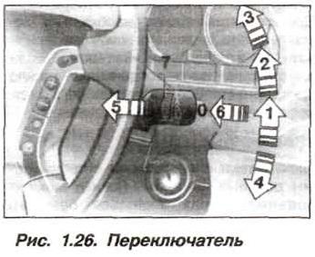 Рис. 1.26. Переключатель БМВ Х5 Е53