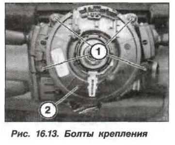Рис. 16.13. Болты крепления БМВ Х5 Е53