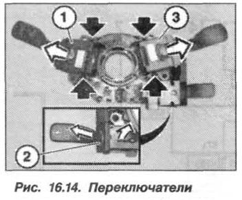 Рис. 16.14. Переключатели БМВ Х5 Е53