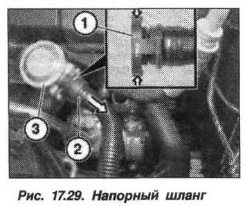 Рис. 17.29. Напорный шланг БМВ X5 E53