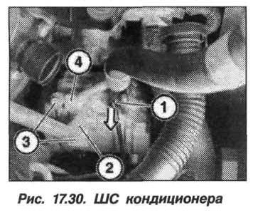 Рис. 17.30. ШС кондиционера БМВ X5 E53