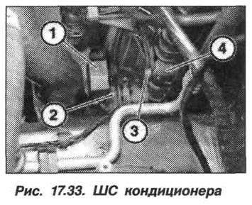Рис. 17.33. ШС кондиционера БМВ X5 E53
