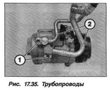 Рис. 17.35. Трубопроводы БМВ X5 E53