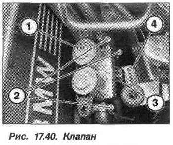 Рис. 17.40. Клапан БМВ X5 E53