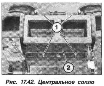 Рис. 17.42. Центральное сопло БМВ X5 E53