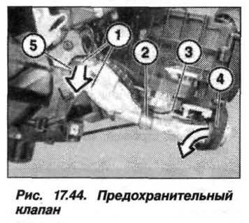 Рис. 17.44. Предохранительный клапан БМВ X5 E53