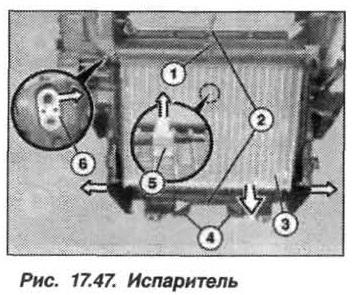 Рис. 17.47. Испаритель БМВ X5 E53